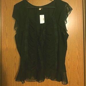 Sexy Black blouse!